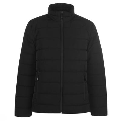 Jacheta Kenneth Cole cu captuseala pentru Barbati negru