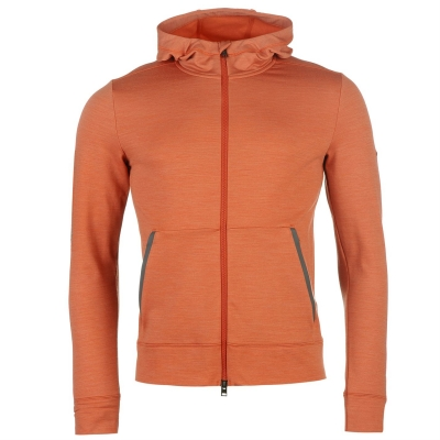 Bluze de trening KJUS Brissago cu gluga pentru Barbati portocaliu