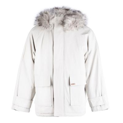 Jacheta Lee Cooper blana artificiala pentru Barbati bej