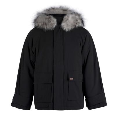 Jacheta Lee Cooper blana artificiala pentru Barbati negru