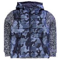 Jacheta Lee Cooper Padded tricot Camo pentru baietei