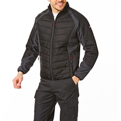 Jacheta Lee Cooper Workwear cu captuseala pentru Barbati negru gri