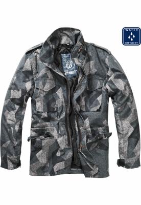 Jacheta M-65 Field bleumarin-camuflaj Brandit digital