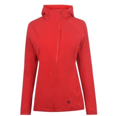 Jacheta Mountain Hardwear Checkstone pentru Femei intens rosu