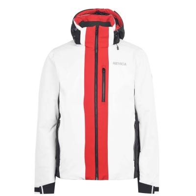 Jacheta Nevica Clifford pentru Barbati alb rosu