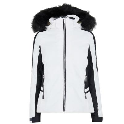 Jacheta Nevica Meribel pentru Femei alb negru