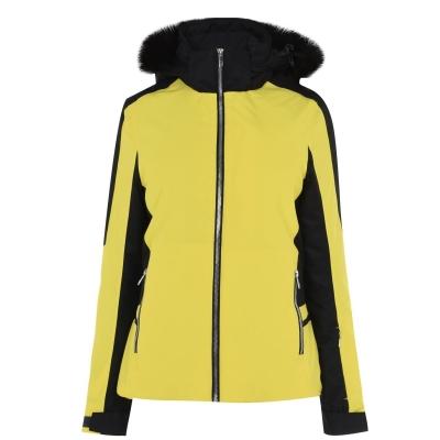 Jacheta Nevica Meribel pentru Femei galben negru