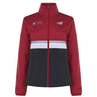 Jacheta New Balance London Edition pentru Femei rosu negru