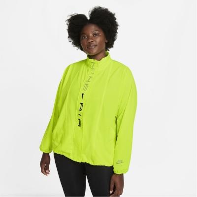 Jacheta Nike Air Dri-FIT alergare pentru femei galben