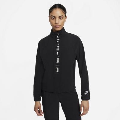 Jacheta Nike Air Dri-FIT alergare pentru femei negru