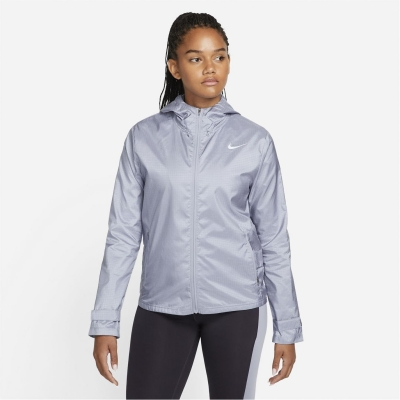 Jacheta Nike alergare pentru Femei albastru haze