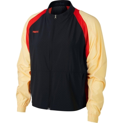 Jacheta Nike FC pentru Femei negru rosu