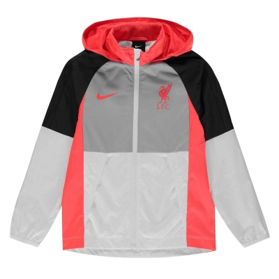Jacheta Nike Liverpool pentru copii wolf gri