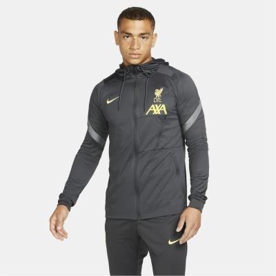 Jacheta Nike Liverpool Strike 2021 2022 pentru Barbati gri