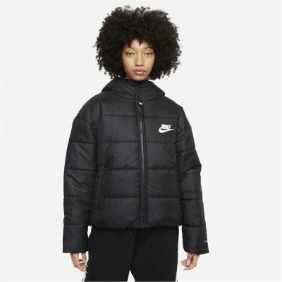 Jacheta Nike Sportswear Therma-FIT Repel (marimi mari) pentru femei negru alb