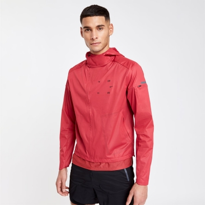 Jacheta Nike Tech . 3-Layer alergare pentru Barbati rosu negru