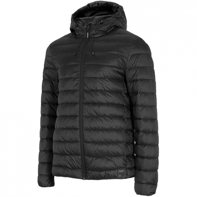 Jacheta Outhorn negru intens HOZ20 KUMP601 20S pentru Barbati