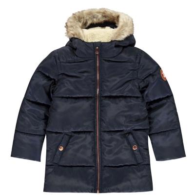 Jacheta parka Gelert Storm pentru fete pentru Bebelusi bleumarin