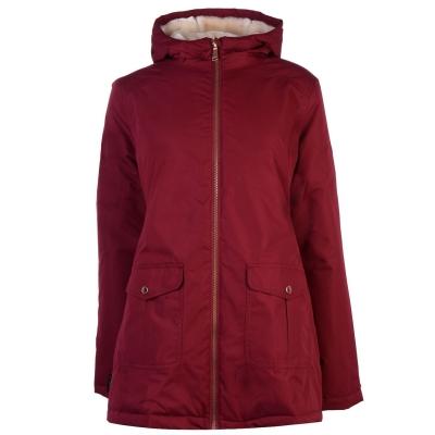 Jacheta parka Gelert Trail pentru Femei rosu burgundy