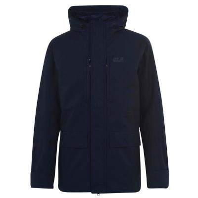 Jacheta parka Jack Wolfskin West pentru Barbati bleumarin albastru