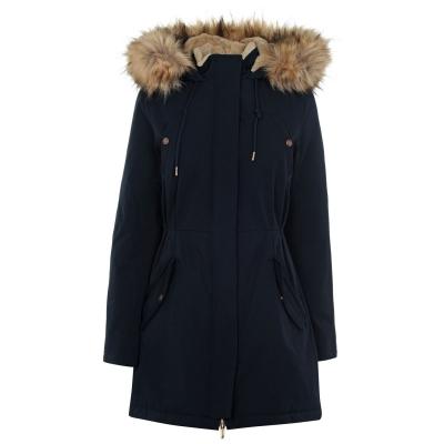 Jacheta parka Kangol clasic pentru Femei bleumarin