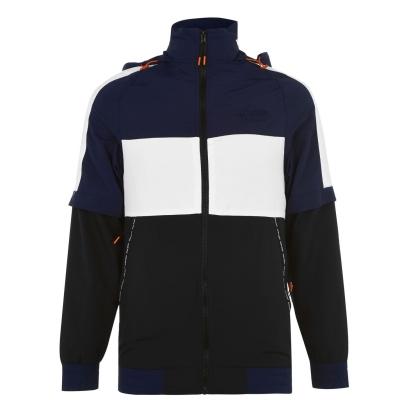 Jacheta PENN cu fermoar Off pentru Barbati bleumarin negru
