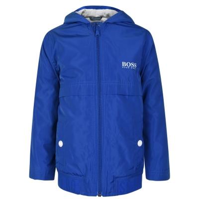 Jacheta pentru vant BOSS pentru baieti pentru Copii albastru