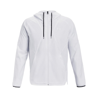 Jacheta pentru vant Under Armour Woven alb