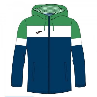 Jacheta ploaie Joma Crew Iv bleumarin inchis-verde