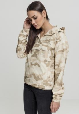 Jacheta Pulover Camo pentru Femei bej-camuflaj Urban Classics