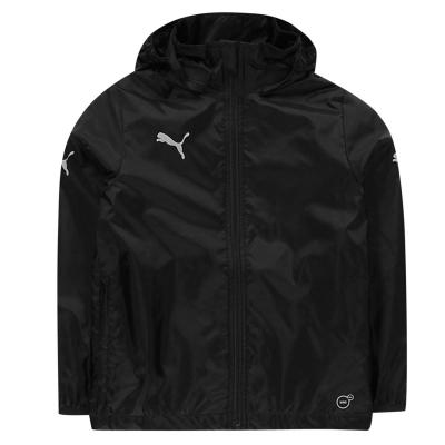 Jacheta Puma Essentials Core ploaie pentru baietei negru