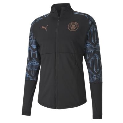 Jacheta Puma Manchester City Stadium 2020 2021 pentru Barbati negru albastru