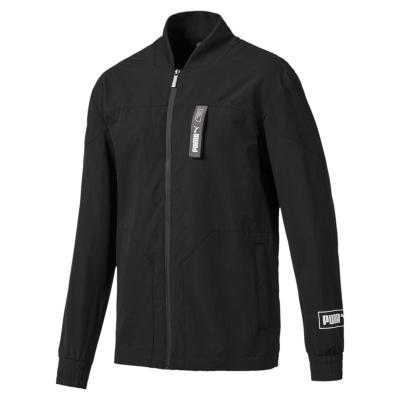 Jacheta Puma NU-TILITY Woven pentru Barbati negru