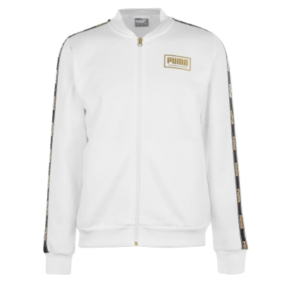 Jacheta Puma pentru Barbati alb