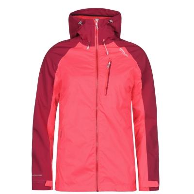 Jacheta Regatta Highton pentru Femei fosforescent roz dc