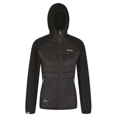 Jacheta Regatta Hybrid pentru femei negru