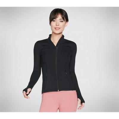 Jacheta Skechers Go Flex plasa pentru Femei negru