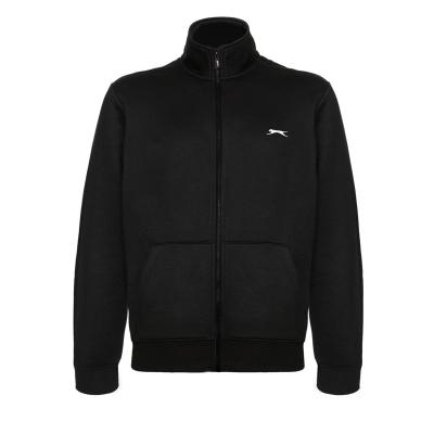 Jacheta Slazenger cu fermoar pentru Barbati negru