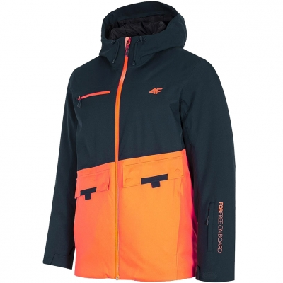 Jacheta Snowboard 4F bleumarin inchis H4Z20 KUMS001 30S pentru Barbati