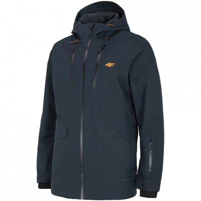 Jacheta Snowboard 4F bleumarin inchis H4Z20 KUMS002 30S pentru Barbati