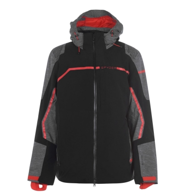 Jacheta Spyder Titan pentru Barbati back rosu