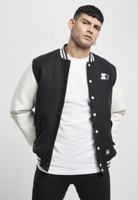 Jacheta Starter College negru-alb