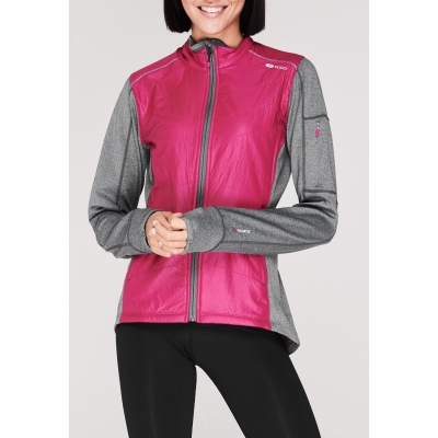 Jacheta Sugoi Alpha Hybrid pentru Femei roz inchis