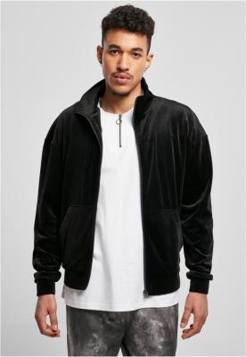 Jacheta tip catifea negru Urban Classics