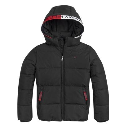Jacheta Tommy Hilfiger Essential negru mov bds