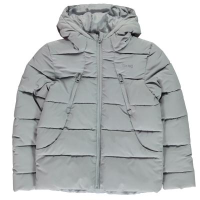 Jacheta USA Pro Baffle pentru fetite gri
