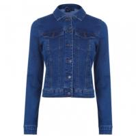 Jacheta Vero Moda Hot Soya Denim med albastru