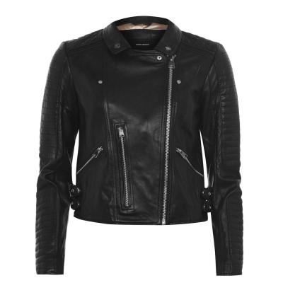 Jacheta Vero Moda din piele pentru Femei negru