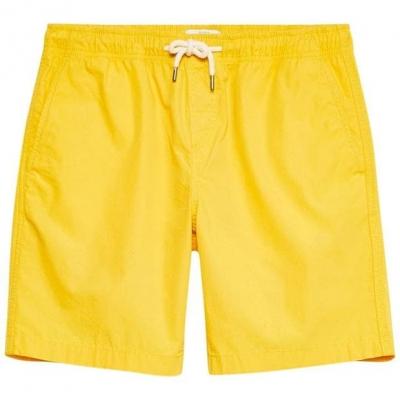 Pantaloni scurti Jack Wills Cober Drawstring bright galben
