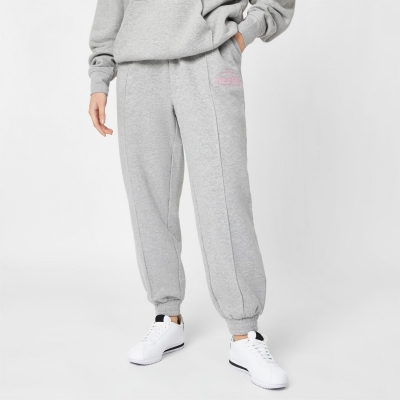 Pantaloni trening Jack Wills Relaxed Fit Embroidered Logo gri